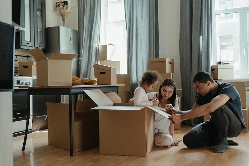 Moving into Crozet Apartment