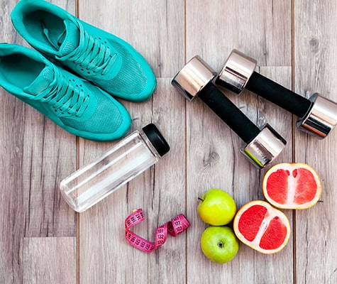 Work out equipment in your Crozet apartment fitness center